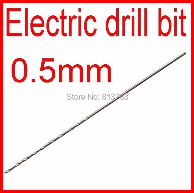 Small Electric Drill Bit Straight Shank Twist Drill Diameter 0 5mm