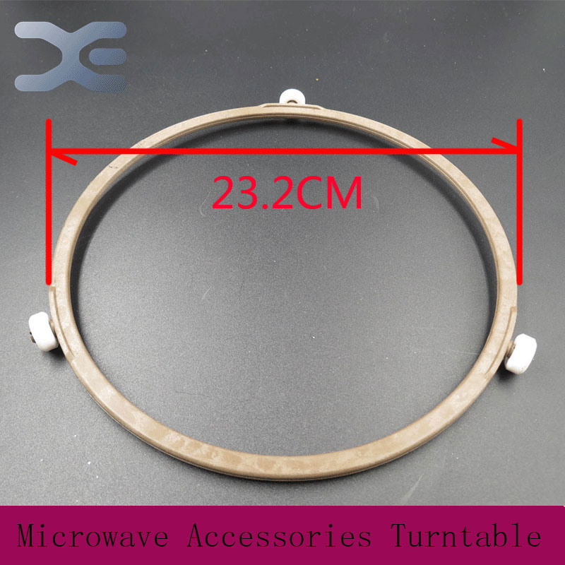2Pcs Lot Microwave Oven Parts Plastic Round Shaped Rotating Tray Glass Microwave Plate Support Suitable For 31.5cm Glass Tray(China (Mainland))