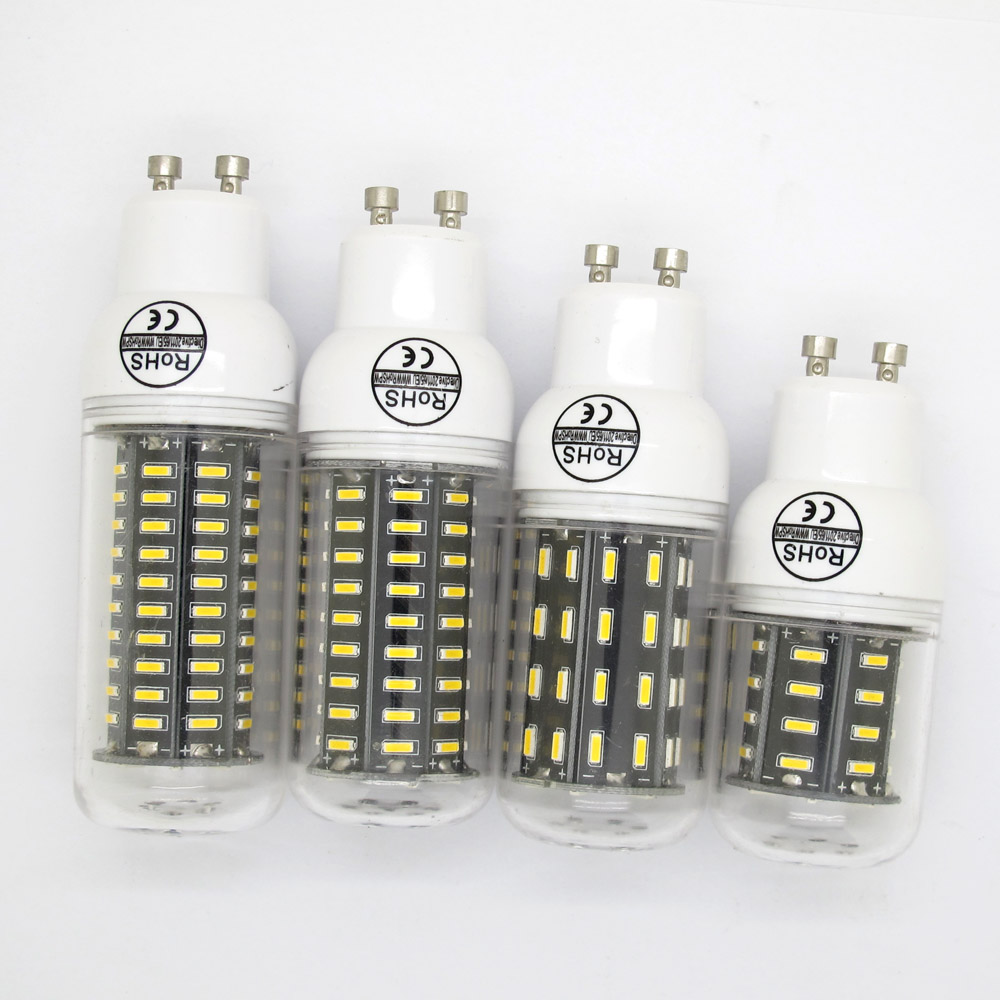 GU10 SMD4014 LED 12W 20W 25W 30W Corn Lamp Chandelier Christmas Smart IC Lights 360 Degree Warm/Cold White Energy Saving Bulb(China (Mainland))
