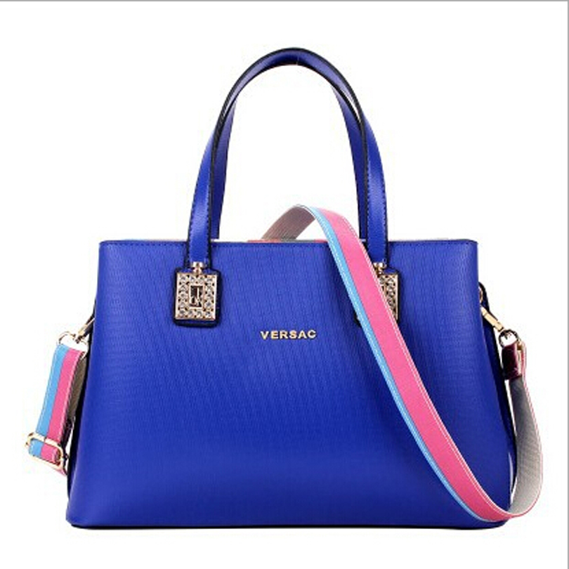 2015 New Embossing Letter Women Leather Handbags Women Messenger Bags Designer Handbags High Quality Woman Bag Bolsas Feminina<br><br>Aliexpress