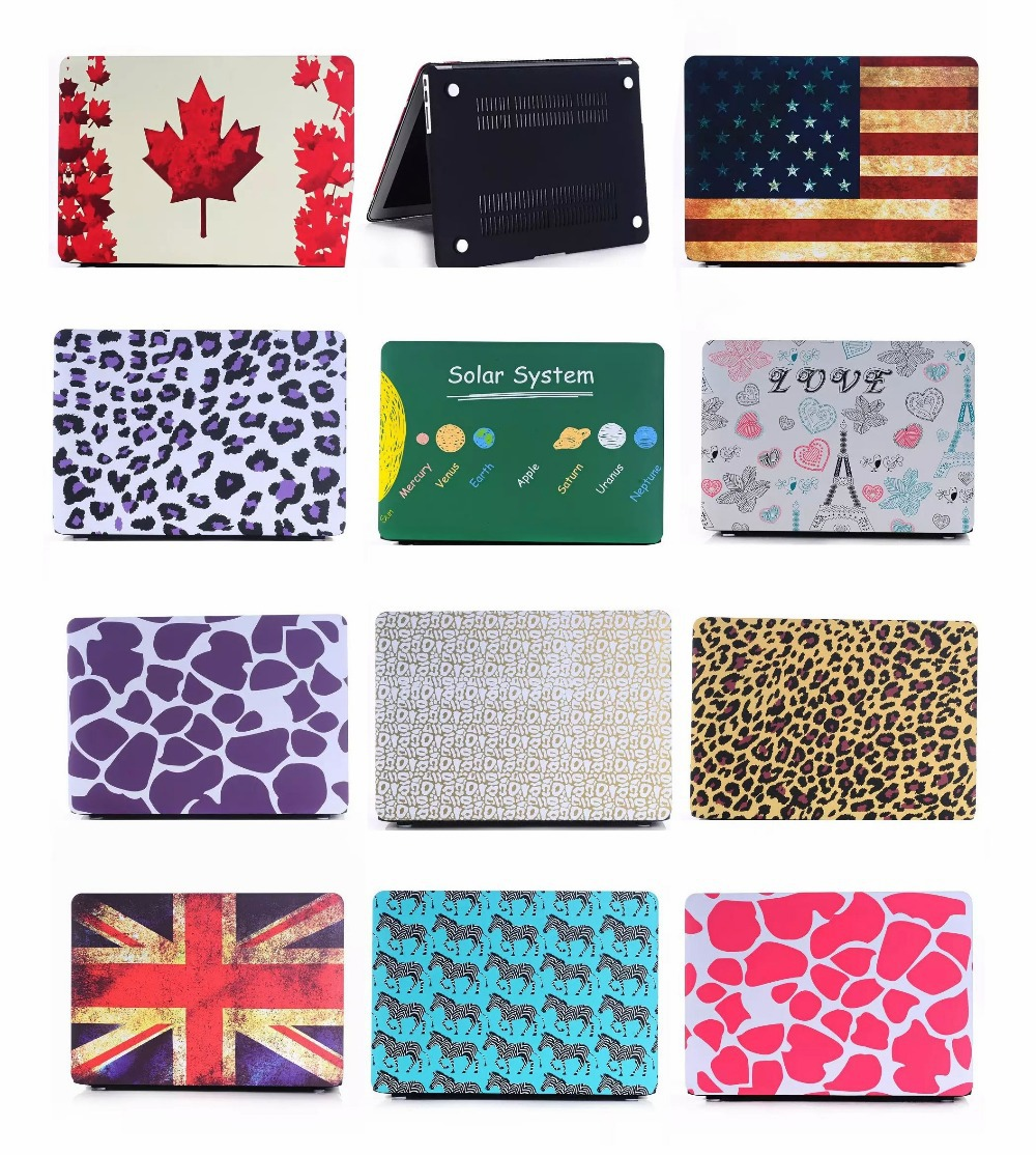 """For Apple Macbook Air Pro Retina 11"""" 12'' 13"""" 15"""" 11.6"""" 13.3"""" 15.4"""" Fashion Lovely Flag Hard Cover Shell Case(China (Mainland))"""
