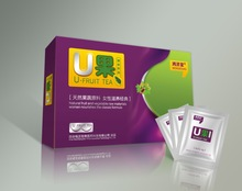 Health care tea health tea chest U fruit Hong Ji Tang biological tea breast enhancement products