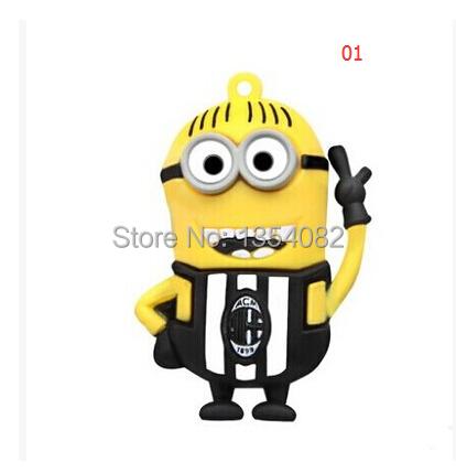 [해외]?새로운 만화 (비열 나) 노란색 남자 USB 2.0 플래시 드라이..