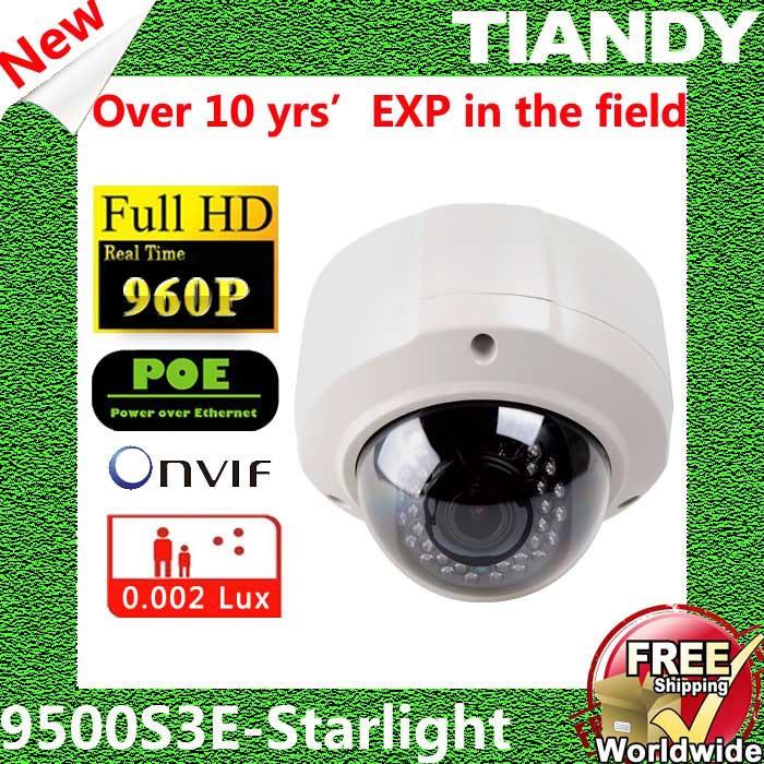 TIANDY TC-NC9500S3E-MP-E CCTV Mini Dome IP Camera Surveillance Video Surveillance System CCTV Outdoor Dome Camera HD(China (Mainland))