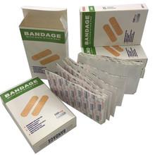 Free Shipping First Aid Kit For Kids Children 100 Pcs  Breathable bandage Cute Cartoon Band Aid Hemostasis Adhesive(China (Mainland))