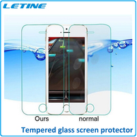 2015 Best Price 0.3 Ultra Thin HD Clear Tempered Glass Screen Protector Cover Guard Film for iPhone6 Free Shipping