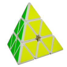 YJ MoYu Magnetic Pyramid Pyraminx 3x3x3 Magic Cube Speed Cube Puzzle cubo magico Learning Education Toys For Children Kids Gifts(China (Mainland))