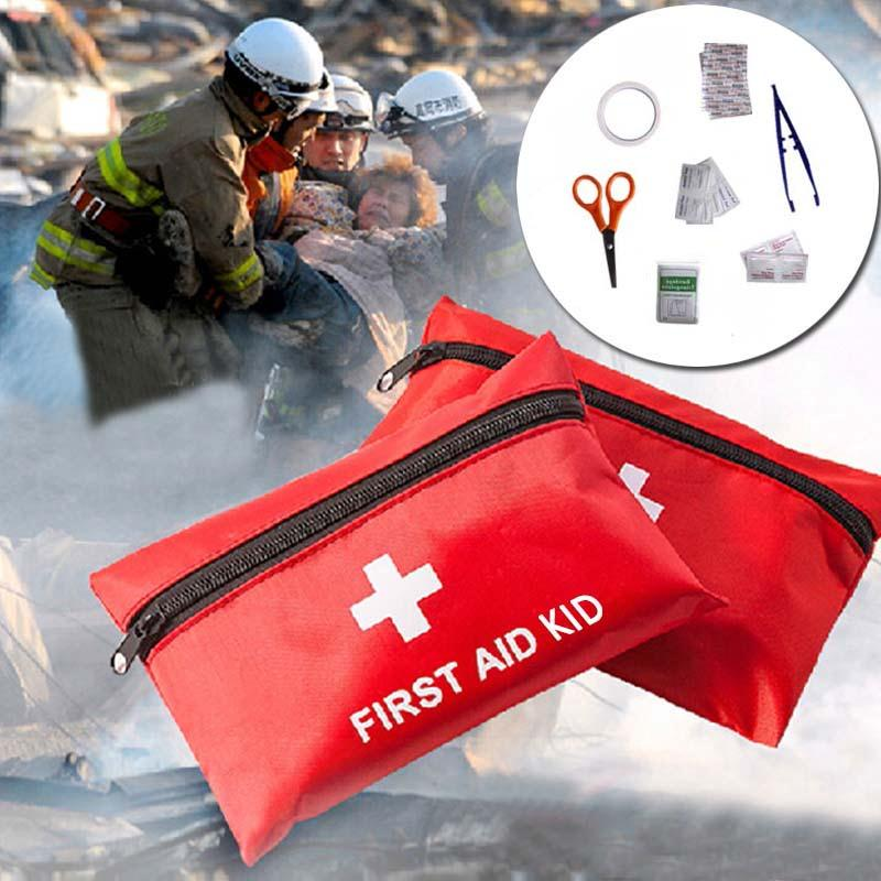 8pcs First Aid Kit Camping Sport Travel Emergency Medical Bag Health care Free Shipping(China (Mainland))