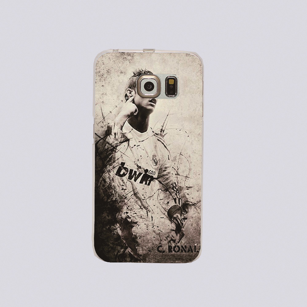 Luxury brand Top star Cristiano Ronaldo CR7 Football Sport plastic cover phone case For Samsung Galaxy S3 S4 S5 S6 s6edge i9500(China (Mainland))