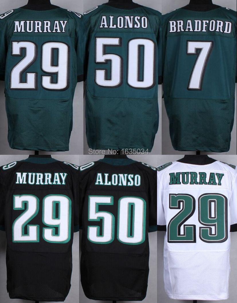 #29 DeMarco Murray Jersey Sam Bradford Kiko Alonso Philadelphia Stiched america elite American football jerseys Sports jersey(China (Mainland))