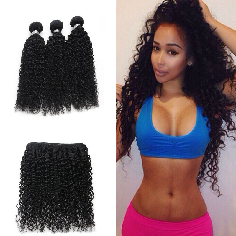 Grace Hair Products Malaysian Curly Hair 7a Grade 100% Unprocessed Afro Curly Weave Human Hair Kinky Curly Weaving Hair(China (Mainland))