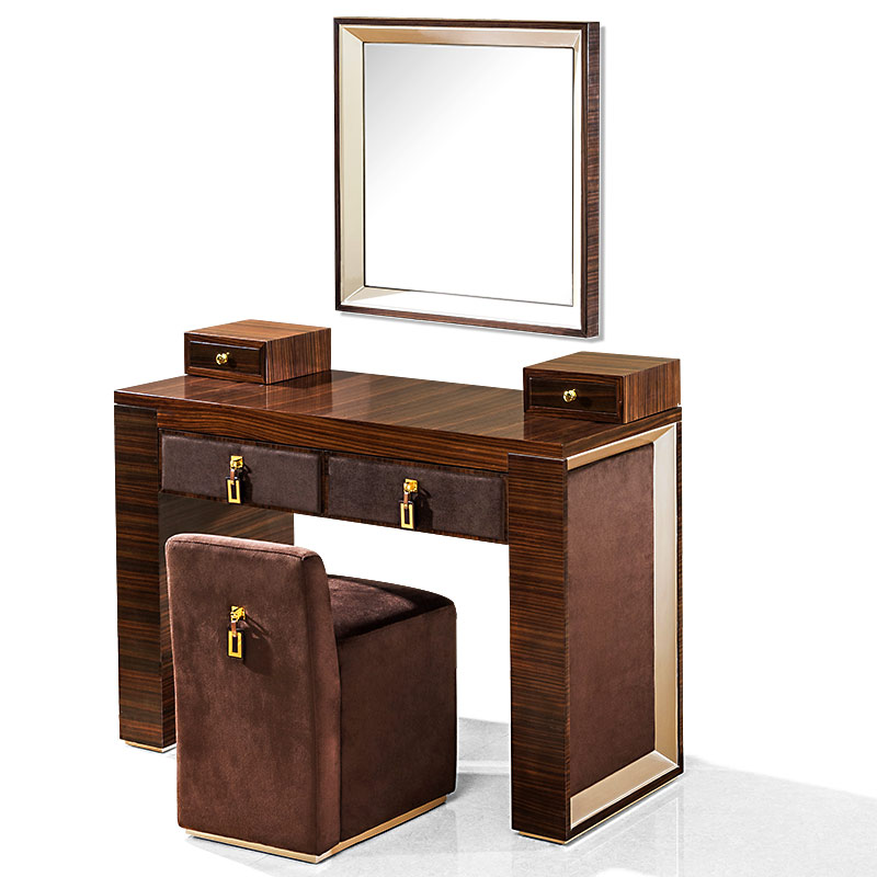 Online kopen wholesale modern dressing table with mirrors uit china modern dressing table with - Kruk voor dressing ...