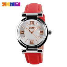 NOVO Relógio Feminino 2014 Fashion e Casual, Relógio de Pulso com pulseira de couro, relógio feminino, Relógio Original para Mulheres