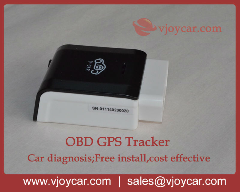 New! Diagnostic tool with obd2, real time tracking, car detector, fuel consumtion report, and FREE shipping!(China (Mainland))