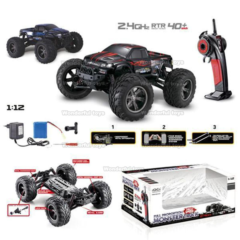 GPTOYS S911 1/12 2WD 40km/h High Speed Remote Control Road Cars Classic Toys Hobby/moster truck VS Traxxas WLTOYS A969 A979 - Wanderful store