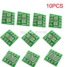 10PCS SOP8 SSOP8 TSSOP8 to DIP8 Interposer Module PCB Board Adapter Plate(China (Mainland))