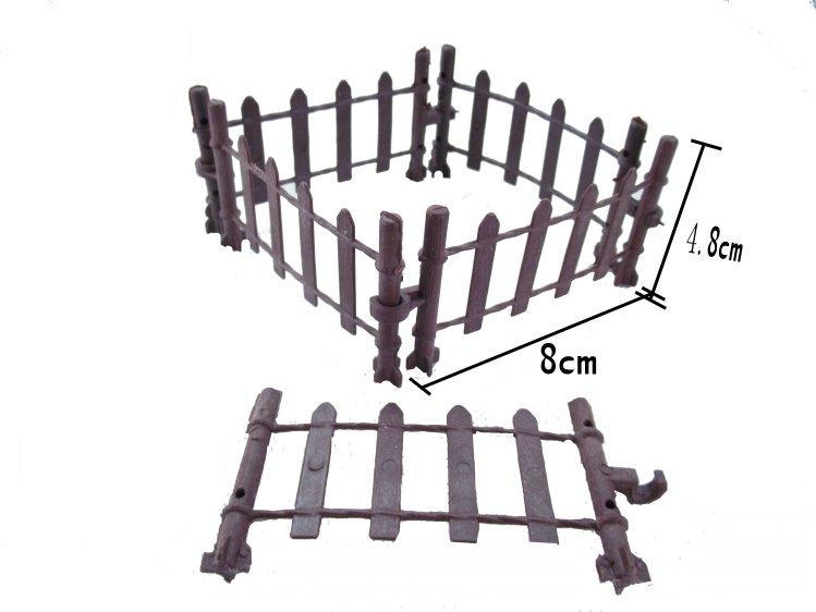 LG2501 1 Meter Model Railway Building Fence Wall 1:25 G Scale NEW(China (Mainland))