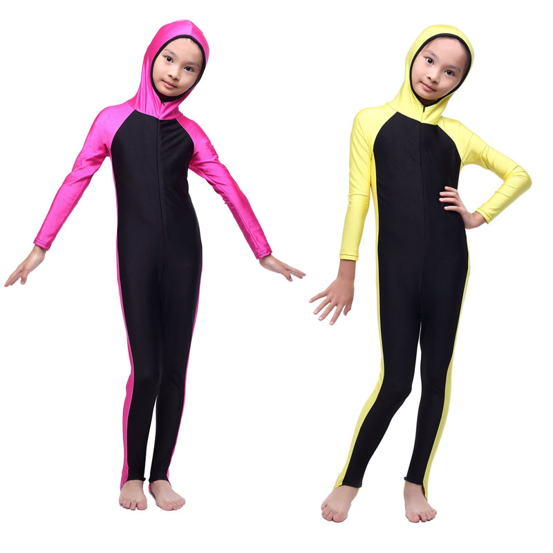 Kid Muslim Swimwear Islamic Swimwears Beach Swimsuits For Muslim Children Islamic Clothing(China (Mainland))