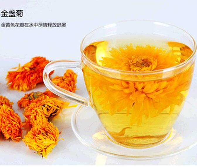 Free shipping 2015 new Calendula Calendula new health tea herbal tea bag 10g TEA053<br><br>Aliexpress
