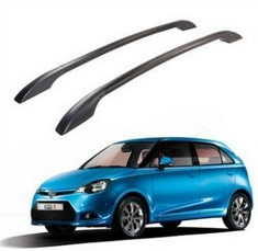 2X High Quality! Aluminium Alloy OEM Type Roof Rack Side Rails Bars Luggage Carrier FIT For Mg3 Mg 3 Car Styling Accessories(China (Mainland))