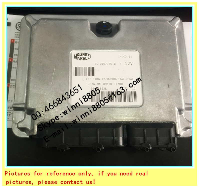 F0r Magneti Marelli system ECU(Electronic Control Unit)/ Chery QQ car engine computer board / S11-3605010LA/MM61601C(China (Mainland))