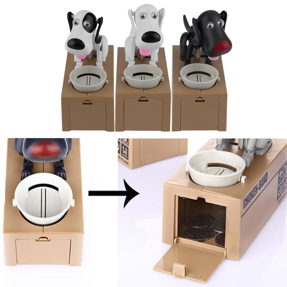 Cute Dog Model Piggy Bank Money Save Pot Coin Box  Gift Hot Seling