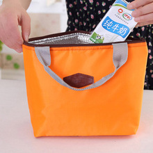 mini bolsa termica cooler bag Tinfoil Aluminum Cooler thermal Handbag Portable picnic lunch bag