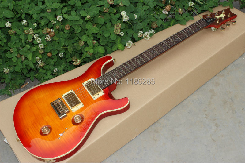Free shipping Chinese musical instrument PRS custom 24 electric guitar prs(China (Mainland))