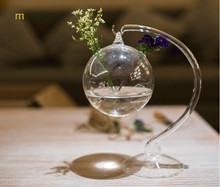 Buy 1PC Longming Home Glass vase minimalist modern creative hydroponic vase suspended plant bottle glass moss vase ornaments OJ 2033 for $8.09 in AliExpress store