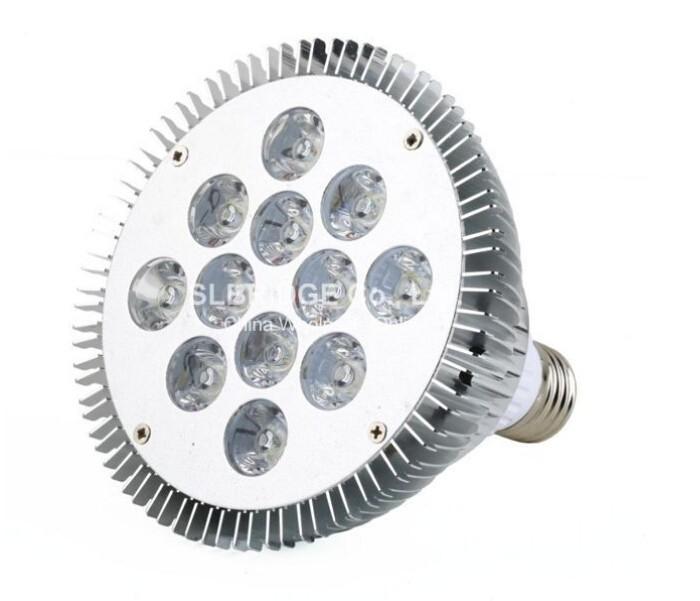 2PCS High Power 12*2W Spotlight Bulb par38 outdoor Waterproof IP40 110V 220V LED Lmap E27 led bulb led light(China (Mainland))