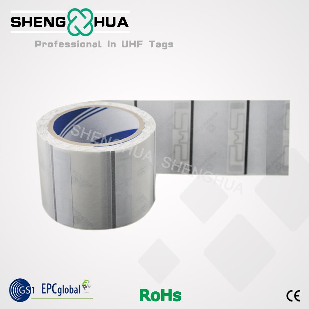 HOT SALE!!! Passive Blank UHF RFID Tag Label(China (Mainland))
