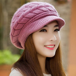 8 colors Womens Ladies Winter Warm Knit Crochet Slouch Baggy Beanie Hat Cap for women  Free shipping Y1