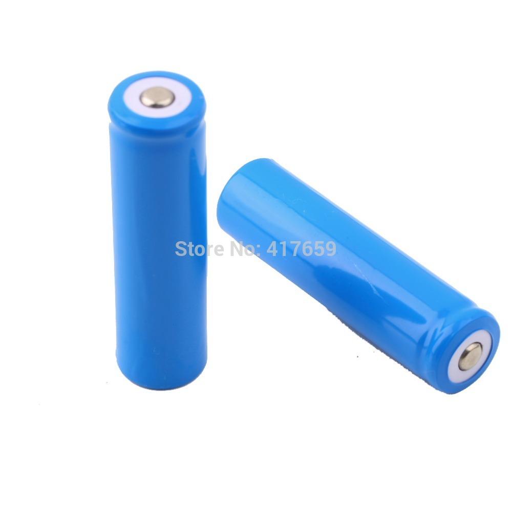 4 PCS Li ion 5000mAh 3 7V Rechargeable Battery 18650 for LED Torch Flashlight