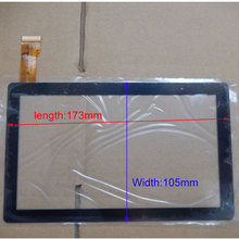 10pcs/lot 7Inch Capacitive Touch Screen PANEL Digitizer Glass Replacement for Allwinner A13 A23 A33 Q88 Q8 Tablet PC(China (Mainland))