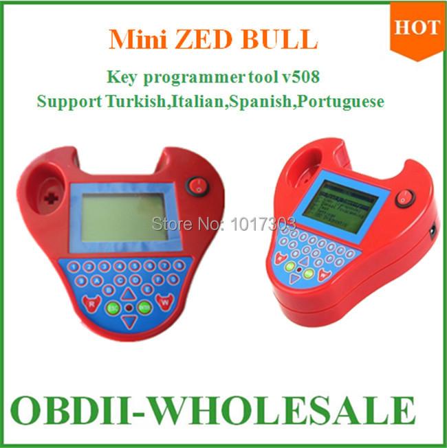 2015 New Super Smart Mini zed bull Auto Key Programmer Small Zed-Bull Transponder Zed Bull no tokens with multi-language on sale(China (Mainland))