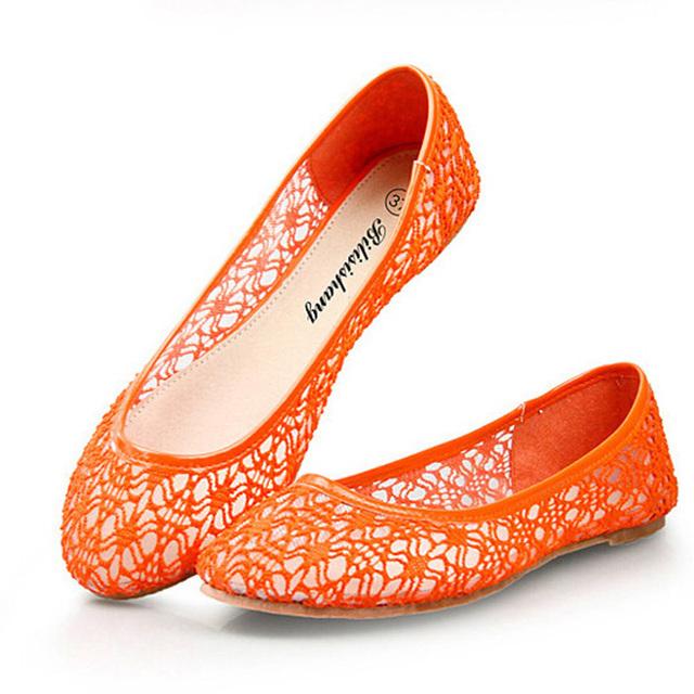 Высокое качество кружева летние сандалии для женщин мода из натуральной кожи женские ...