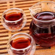 Yunnan Aged Tree Jujube Aroma Puer Tea Brick 1990s Ripe 250g Brick Tea ZH206
