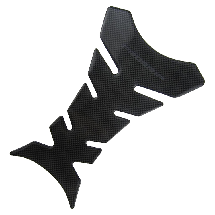 1pcs Free Shipping Carbon Fiber Tank Pad Tankpad Protector Sticker For Moto Motorcycle Universal(China (Mainland))