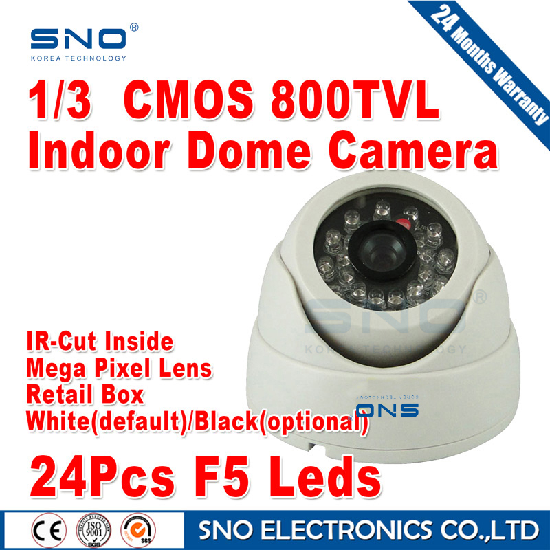 free shipping!sno cctv camera HD 800TVL sony cmos ccd cctv cam IR surveillance camera security camera wholesale dome cameras(China (Mainland))