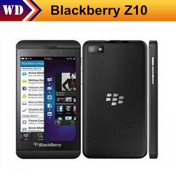 One Year Waranty Original unlocked Blackberry Z10 Cell Phones 16 GB storage 8MP 4.2 inch GPRS WIFI Bluetooth(China (Mainland))