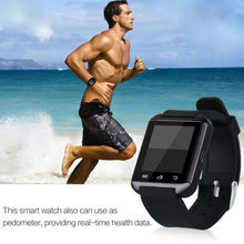 Smart Watch U8 Clock Sync Notifier Support Bluetooth Connectivity Fof Iphone Android Phone Smartwatch