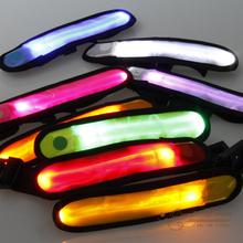 LED Luminous Arm Belt Wrist Straps LED Light Safety Arm Band Outdoor Camping Sport Wristband(China (Mainland))
