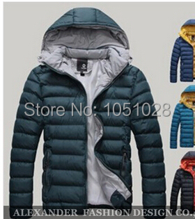 2014 new men s winter thick padded cotton jacket men short paragraph tide of young men