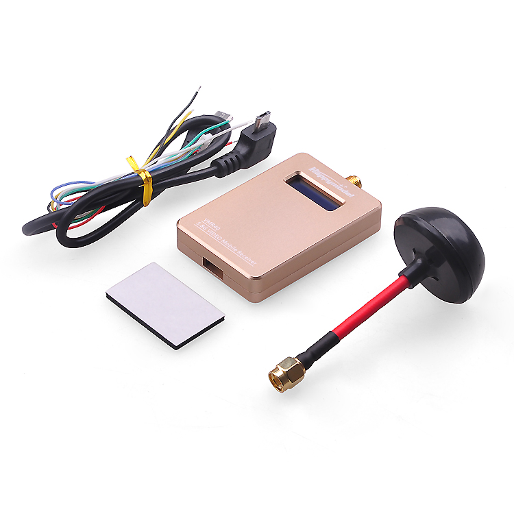 F18265 VMR40 5.8G 40Ch Wireless FPV System Video Rx Reciever with Antenna OTG Connect Smartphone Tablet PC for Racing Quadcopter(China (Mainland))