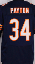 Best quality jersey,Men's 13 Kevin White 17 Alshon Jeffery 23 Kyle Fuller 34 Walter Payton 89 Mike Ditka elite jersey,White,Blue(China (Mainland))