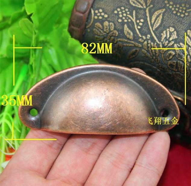 Гаджет  30pcs Steel Antique Copperl Cabinet Simple Shell Style Wardrobe Cupboard Drawer Pulls Handles None Мебель