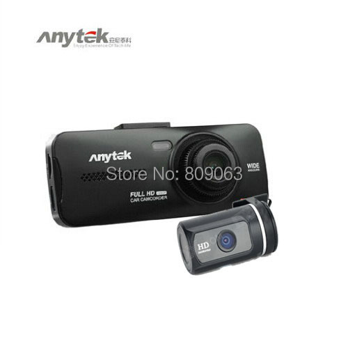 Dual Camera r AT950 Car DVR Recorder Allwinner Car Black Box Full HD 1080P 5 0MP