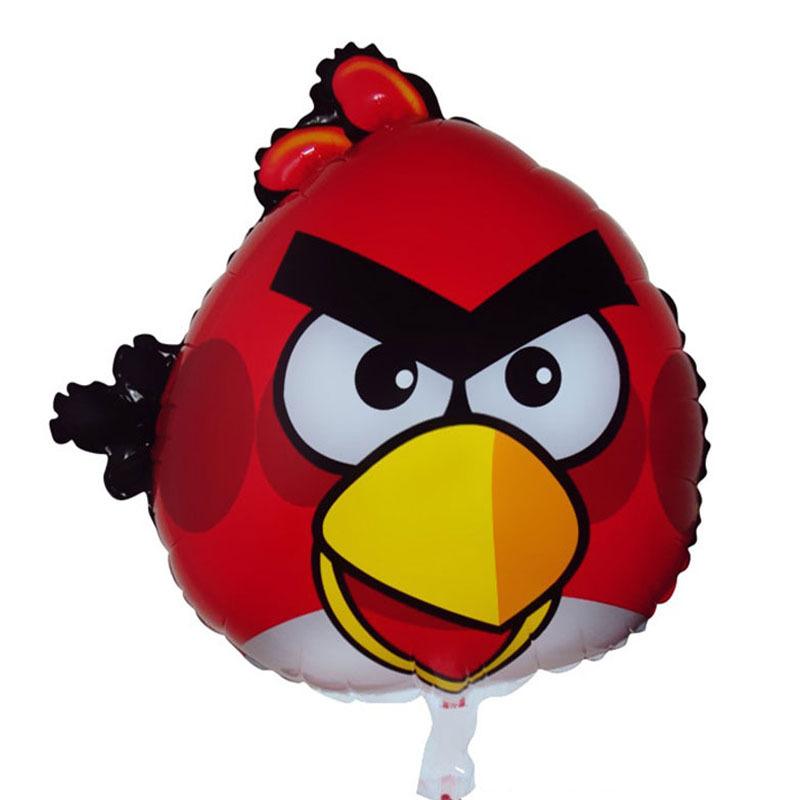 68.5x40cm red kids baby birthday toys gifts big bird cartoon animals foil helium mylar balloons<br><br>Aliexpress