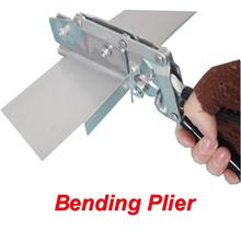 Manul Bending Pliers for Aluminum, Iron, Stainless Steel Advertising Sign Bending Equipment for Luminous Channel Letter Making(Hong Kong)