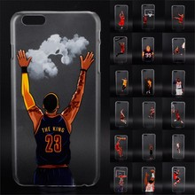 Buy NBA star basketball player phone case iphone 5 5se 6 6s 7 plus Jordan 23 james harden curry hard PC back cover coque fundas for $1.66 in AliExpress store